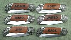 Who said that the bridesmaids are the only ones who should get gifts? Why not get these for the groomsmen?