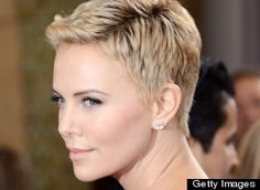Charlize Theron Oscars Hair: Actress Rocks Short Hair Months After Shaving Head (PHOTOS)