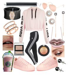 """💟💗💟"" by whodatgirl ❤ liked on Polyvore featuring adidas, Full Tilt, Topshop, Roberto Demeglio, Lana, EF Collection, Burberry, Lime Crime, Nordstrom and Black"