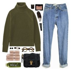 """""""To cast divine arrows into her soul"""" by nandim ❤ liked on Polyvore featuring Uniqlo, Proenza Schouler, NARS Cosmetics, Christy, Erica Lyons, Frédérique Constant and Diptyque"""