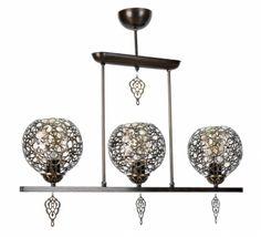 Lustra Orient Old Star cu 3 Becuri Decor, Oriental Lamp, Oriental, Lamp, Outdoor Decor, Lights, Home Decor