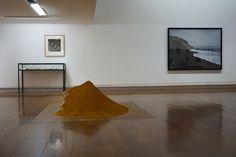 """Manuel Vilariño. Exposición """"Tectónica"""" CGAC (Centro Gallego de Arte Contemporáneo) Santiago de Compostela  #Arte #ArteContemporáneo #Art #ContemporaryArt #Arterecord 2015 https://twitter.com/arterecord"""