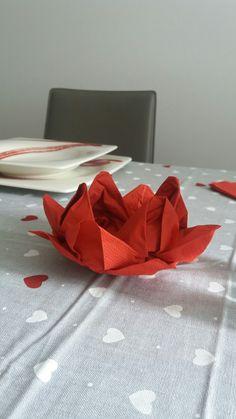 Porta candela/ grissini/ salatini in origami
