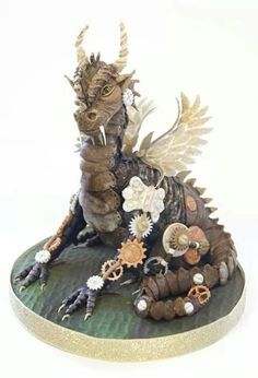 dragon stampunk cake (from where?) More