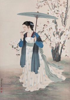Claborate-Style Painting (Artist Wang meifang)