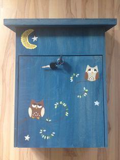 Briefkasten Eulennacht Holz