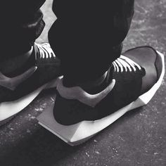Tech Runners by Addidas x Rick Owens.