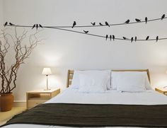 Birds on a Wire Wall Decals - Buy these for your home online