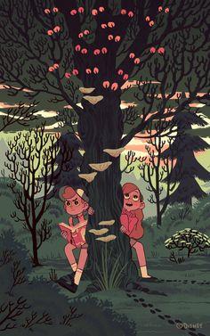 Gravity Falls, Dipper & Mabel (Sara Kipin)