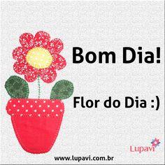 Nova semana, novas oportunidades. Bom dia! #BomDia #Oportunidades #FlorDoDia #LupaviPatchwork #GoodMorning #Opportunity #FlowerOfTheDay #Lupavi