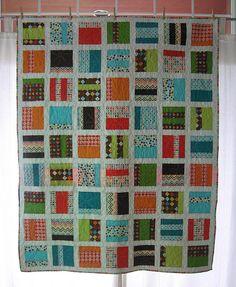 I love Elizabeth Hartman's modern quilts.