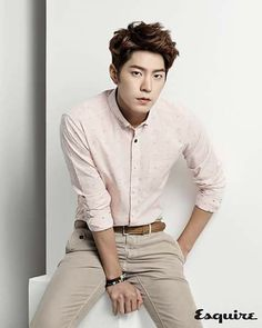 Hong Jong Hyun - Esquire Magazine March Issue '15