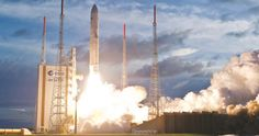 Isro's GSAT-18 launched successfully on board Ariane-5 from Kourou