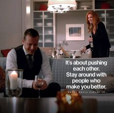 """✨💖✨⭐️💎 What Would Harvey Do?™ """"Hangout with people who want to win. Done Quotes, Best Quotes, Funny Quotes, Harvey Specter Suits, Suits Quotes, Motivational Quotes, Inspirational Quotes, Grey Anatomy Quotes, Gentleman Quotes"""