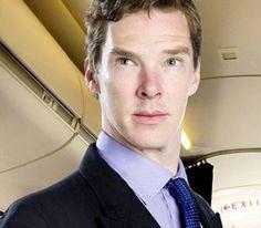"""Benedict Cumberbatch / Martin Crieff in """"Cabin Pressure"""""""