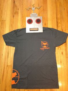 Robot Security Men's TShirt by TheVintageRobot on Etsy, $16.99