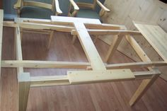 Looking for plans for the mechanism of an Amish Stowleaf Table - by Lee Barker @ . Woodworking Projects Diy, Woodworking Furniture, Furniture Plans, Woodworking Plans, Diy Furniture, Workbench Plans, Woodworking Patterns, Woodworking Machinery, Woodworking Workbench
