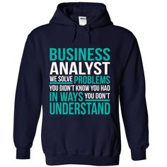 (New Tshirt Produce) BUSINESS-ANALYST [Hot Discount Today] Hoodies, Tee Shirts