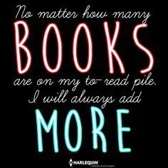 It never ends! ~ Deb #HarlequinBooks #FortheLoveofBooks