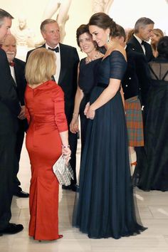 This Week In Pictures: The Duchess of  Cambridge in a Jenny Packham gown