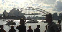 Kaupunkiloma Sydneyssä.