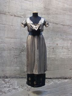 ANTIcostume: 1913-14 EVENING DRESS