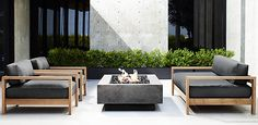 Rh Modern Pillows : PATIO SEATING Marbella Collection- Weathered Grey Teak (Outdoor Furniture CG) Restoration ...