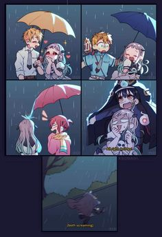 Read Chapter 10 Hujan from the story Grup chat Jibaku Shounen Hanako-kun by chika_desu (MxY) with 80 reads. Anime Meme, Otaku Anime, Anime Chibi, Kawaii Anime, Manga Anime, Anime Art, Cute Anime Wallpaper, Shall We Date, Anime Crossover