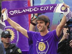 Once-great Brazilian midfielder Kaka scored his first goal for new side Orlando City, but barely 100 people were on the touchline to watch. Orlando Pride, Orlando City, Orlando Florida, Ricardo Kaka, Canada Soccer, Major League Soccer, Soccer Fans, Basketball, Just Girly Things