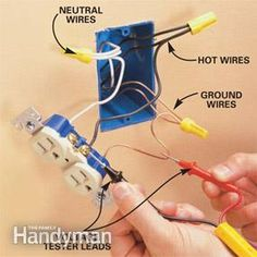 how to replace an electrical outlet for dummies diy household add an electrical outlet