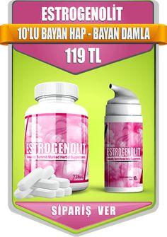 Estrogenolit 10'lu bayan hap - Bayan Damla Sipariş Ver