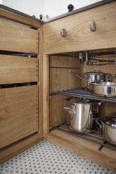 Frederiksberg - Snedkeriet KBH Kitchen Stuff, Kitchen Ideas, Kitchens, Kitchen Appliances, French Door Refrigerator, French Doors, Homes, Furniture, Design