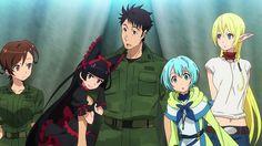 Download GATE Anime Shino Kuribayashi Rory Mercury Itami Lelei and Tuka 2880x1620