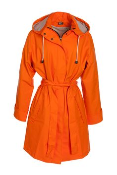 Garda of Sweden raincoat #orange