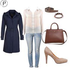 Blue & Brown: Un atuendo cómodo, abrigado y con mucho estilo