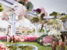 MVRDV to transform abandoned highway into the seoul skygarden