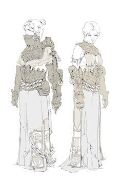 ArtStation - Stone Cultist Armour, Beth Hobbs