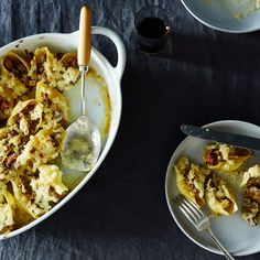 Mushroom Stuffed Giant Shell Pasta recipe on Food52