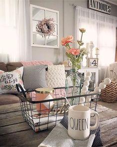 07 Awesome Modern Farmhouse Living Room Decor Ideas