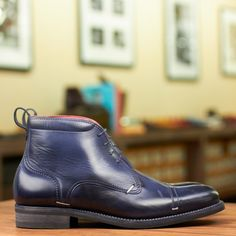 We are unequivocally passionate about fine footwear, and we want to share that passion with our fellow shoe enthusiasts. Men's Boots, Dress With Boots, Combat Boots, Fashion Boots, Men's Fashion, Rider Boots, Vogue, Clean Shoes, Designer Boots