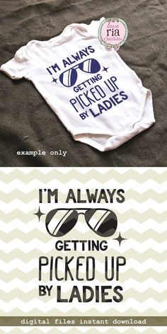 Baby boy newborn fun funny saying, new baby shower gift idea digital cut files SVG DXF files for cricut, silhouette cameo, diy decal Funny Baby Gifts, Diy Baby Gifts, Baby Crafts, Funny Babies, Bebe Video, Boy Onsies, Baby Shirts, Funny Baby Boy Onesies, Diy Bebe