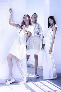 Dirección Artística, Diseñadora: MIMA Modelos: Fernanda Alvear, Ani Zuñiga y Anna Mashkovskaya