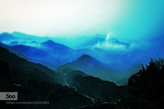Able to see far and wide (original color) by WenMinTseng  China beautiful cloudy fog foggy glow high light morning mountain mountains river sun trees WenMinTs