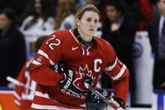 Hayley Wickenheiser has been named to carry the flag for Canada at the Sochi Winter Olympics.  Congratulations Hayley.  www.LancasterLuxuryHomes.com