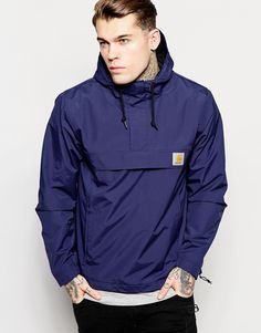 Image 1 ofCarhartt WIP Nimbus Hooded Pullover Jacket