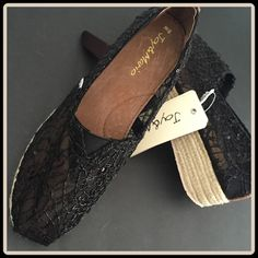 """MESH ESPADRILLE WEDGE [JOY & MARIO] With Tag $70 Retail + Tax  Sassy, fun and very comfy!  -Slip-on ESPADRILLE wedge -Mesh body for breathable comfort -Crotched pattern sequin detail -Lightly padded & arch support -Leather lined footbed -Rubber outsole -Flatform 1.5""""   2+ BUNDLE=SAVE  ‼️NO TRADES--NO HOLDS--NO MODELING   Brand Items Authentic   ✈️ Ship Same Day--Purchase By 2PM PST    USE BLUE OFFER BUTTON TO NEGOTIATE  ✔️ Ask Questions Not Answered In Description--Want You To Be Happy Joy…"""