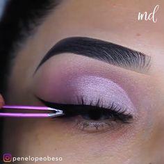 Bts Makeup, Prom Eye Makeup, Silver Eye Makeup, Asian Eye Makeup, Makeup Lips, Wedding Makeup, Purple Makeup Looks, Purple Eye Makeup, Colorful Eye Makeup