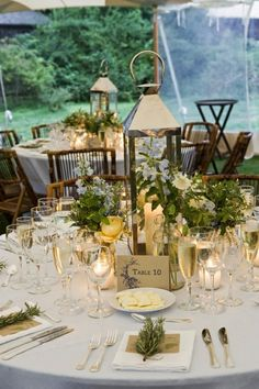 wedding centerpiece lanterns