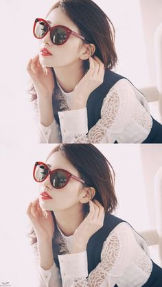 Bae Su-ji(배수지; born October 10, 1994), commonly known by her stage name Suzy, is aSouthKoreansingerandactress.