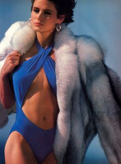 Mike Reinhardt for Harper's Bazaar, December 1984.